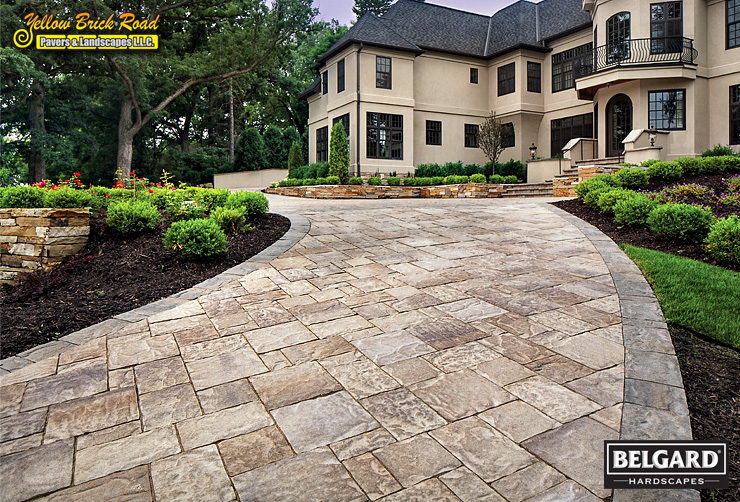 Landscaping paver driveways patios pathways mpls minnesota for Landscaping rocks charleston sc